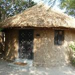 Mud 'Bhunga' or huts to stay