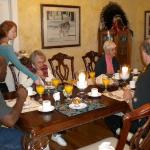 Our 2nd day we had 3 new couples join us for breakfast