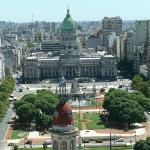 panoramic view from the second highest building in Buenos Aires ,Palacio Barolo