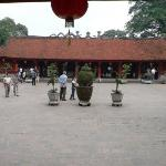 Courtyard of the Sage Sanctuary, Temple of Literature - Hanoi