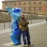 Bilde fra Berlinmuren Minnesmerke