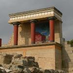 Bilde fra Knossos Archaeological Site