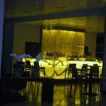 il bancone del bar...dalla foto non rende