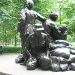 memorial to the nurses that served in the Vietnam War