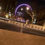 London eye von der Downing street aus gesehen