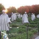 Bilde fra Korean War Veterans Memorial