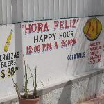 Restaurant in Playa del Carmen - 2 beers for $3!  Right on the beach!