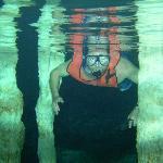 Snorkeling in Dos Ojos cenote