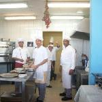 Wonderful Cooks at lunch area near pool