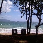 best seat beside beach