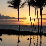 Hawaii sunset from their restaurant