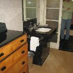 Extra sink & room of closets/drawers
