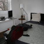 Nice room, a bit small