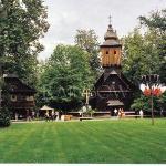 woooden church