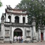 The Great Portico, Temple of Literature - Hanoi