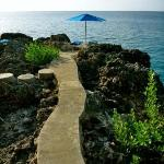Walkway To Our Private Sunning Deck