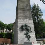 Pere laChaise Cemetery Holocaust memorial