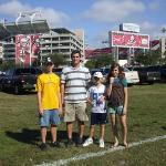 "Raymond James Stadium ""THE BUCCANEERS"" NFL football team"