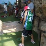 Isaiah mini-golf