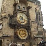 the Astronomical Clock thing. apparently, it's kinda a big deal to these people. they even took