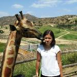 Emma at San Diego Zoo's Wild Animal Park, Escondido California