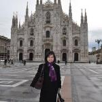 Il duomo - the wedding cake church.. Totally falling in love with this building.. :)