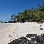 Spiaggia dove vi lascia il motoscafo all'arrivo