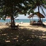 Strand direkt vor dem Hiep Thanh Resort