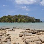 Petite île à marée haute