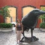 """The emblem of Cuervo, which means """"raven"""""""