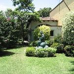 The hacienda grounds