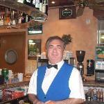 Chef der Bar im Hotel