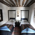 A bedroom at the Old Inn in Bandipur: No two bedrooms are the same.