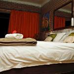 Luxury Suite G Door opens on Private Patio