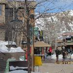 SNowmass village mall area
