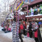 Mardi Gras Parade on Fat Tuesday