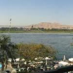 View of Nile from balcony