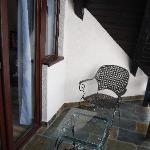 Balcony outside the room