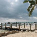 The beach & pier