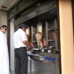 Shawarma downstairs