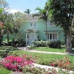 The resorts villas.