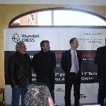 Presentación del GM Veselin Topalov en el Hotel Aníbal