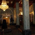 Beautiful entry and lobby.
