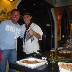My Partner & Carlos-The Best Chef