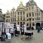 Paintings sold at Grand Place