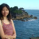 """The temple is home of a pilgrimage temple. Tanah Lot means """"Land in Sea"""" in Balinese language be"""
