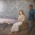 A Mural of Jennie Wade's Death