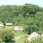 Nearby Mayan village