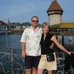 Pete and I in Lucern, Switzerland in September 2008.