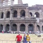 CON MI GENTE EN ROMA